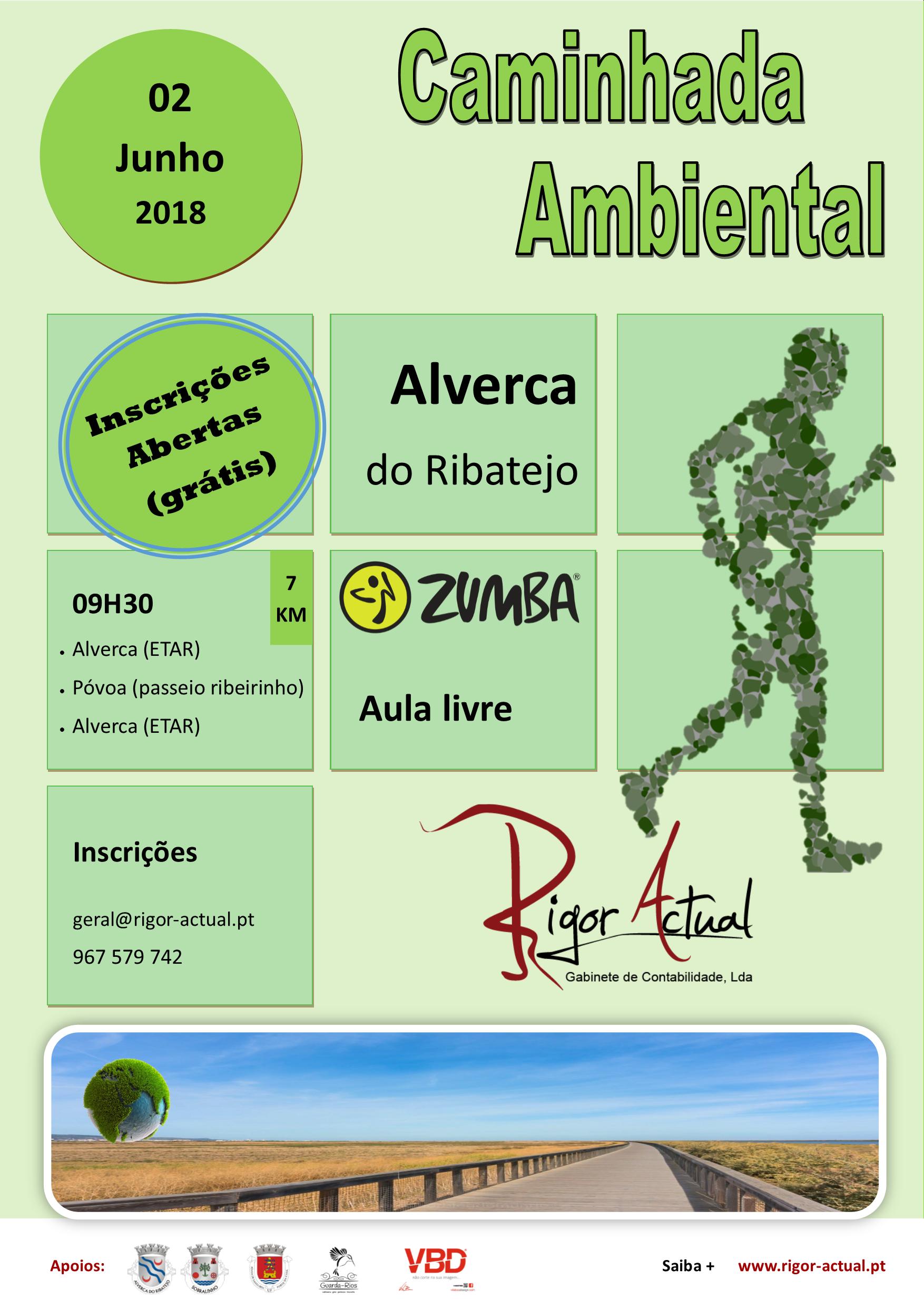 Caminhada Ambiental Alverca - Rigor Actual 02 de junho de 2018